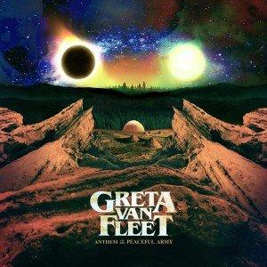 Greta Van Fleet Anthem Of The Peaceful Army (CD)
