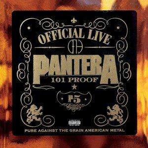 Pantera The Great Official Live: 101 Proof (Vinilo) (2LP)