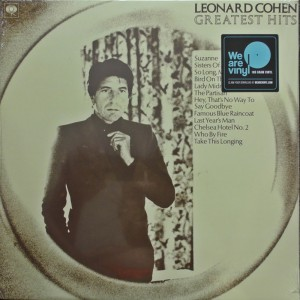 Leonard Cohen Greatest Hits (Vinilo)