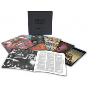 King Crimson 1969 - 1972 (BOX) (Vinilo) (6LP) (Limited Edition)